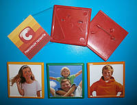 ЗНАЧКИ пластиковые квадратные  (цветной корпус)