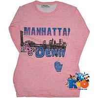 """Детская трикотажная туника """"Manhattan"""" для девочки от 5-8 лет"""