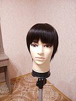 Парик из натуральных волос РЕМИ с имитацией кожи головы