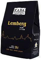 "Кофе молотый  ""Кава Характерна"" ""Lemberg"" 75г."
