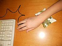 Подушечка-массажер под кисть руки