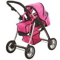 Детская демисезонная коляска для кукол Melogo 9388