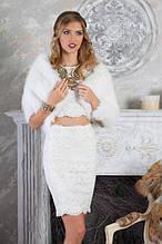 ХУТРЯНІ НАКИДКИ natural fur capes shawls pelerines necklets