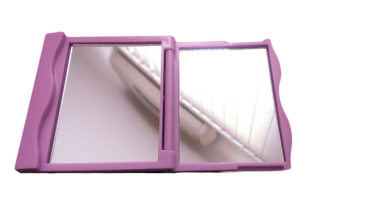 Зеркало косметическое карманное складное
