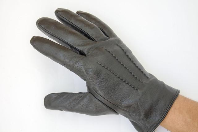 Мужские кожаные перчатки оптом