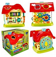 Развивающая логическая игрушка Limo Toy Чудо-домик M 0001 U/R KK HN