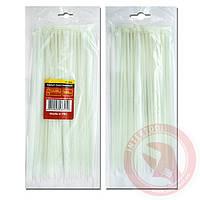 Хомут пластиковый белый (стяжка нейлоновая) 2.5x100 мм (100 шт/уп) INTERTOOL TC-2510