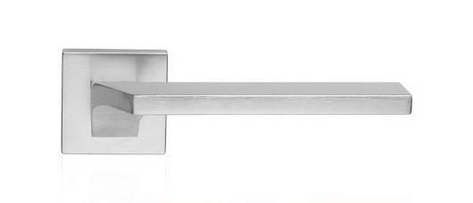 Ручка дверная Linea Cali Giro на 024 розетке, матовый хром, фото 2