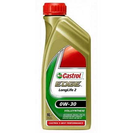 Моторное масло Castrol EDGE LONGLIFE II 0W30 FST 1 л, фото 2