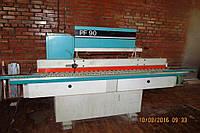 Постформинг станки б/у Turanlar: роликовый пресс RP1302 и загибочный станок PF90,