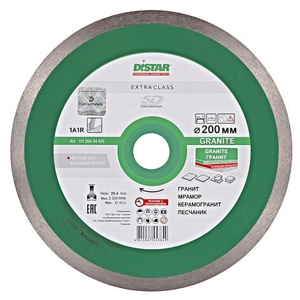 Алмазный отрезной диск Distar Granite 200x25.4 , фото 2
