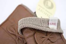 Цветные кожаные перчатки Маленькие, фото 3