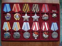 Планшетка для наград СССР 12 ячеек