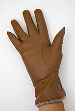 Цветные кожаные перчатки Средние, фото 3