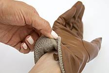 Цветные кожаные перчатки, фото 3