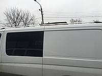 Рейлинги Mercedes-Benz Sprinter \ Мерседес  Спринтер 901-906 черный (металлическая ножка)