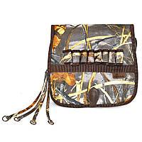Ягдташ для охоты с сеткой и торокой, камуфлированная, арт. 8003 (сумка охотника)