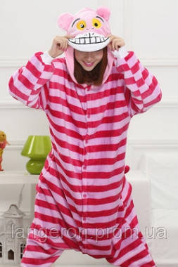 Кигуруми Чеширский кот полосатый kigurumi S пижама  продажа 20229ef9182b9