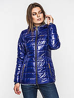 Женская демисезонная куртка с капюшоном 9098