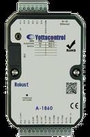 Модуль A-1819, 8AI(0/4-20mA,J,K,T,E,R,S,B,Thermistor), Ethernet, USB (для программирования)