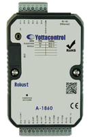 Модуль A-1855, 8DI, 4DO(Motor Driver), Ethernet, USB (для программирования)