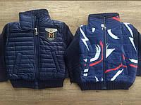 Стильная болоневая куртка на мальчика 2-6 лет