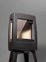Печь камин чугунная DOVRE Sense 103 глянцевая черная, фото 2