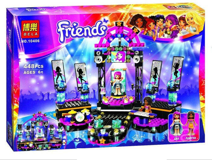 "Конструктор Friends 10406 ""Сцена поп звезды"""