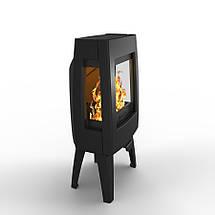 Печь камин чугунная DOVRE Sense 103 глянцевая черная, фото 3