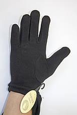 Мужские зимние перчатки + кролик Маленькие, фото 2