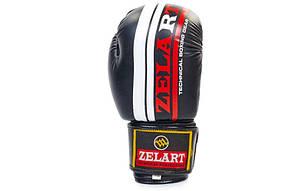 Перчатки боксерские FLEX ZB-4275-BK, фото 2