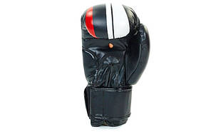 Перчатки боксерские FLEX ZB-4275-BK, фото 3