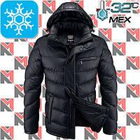 Куртки на меху зимние - 2-2619 черный