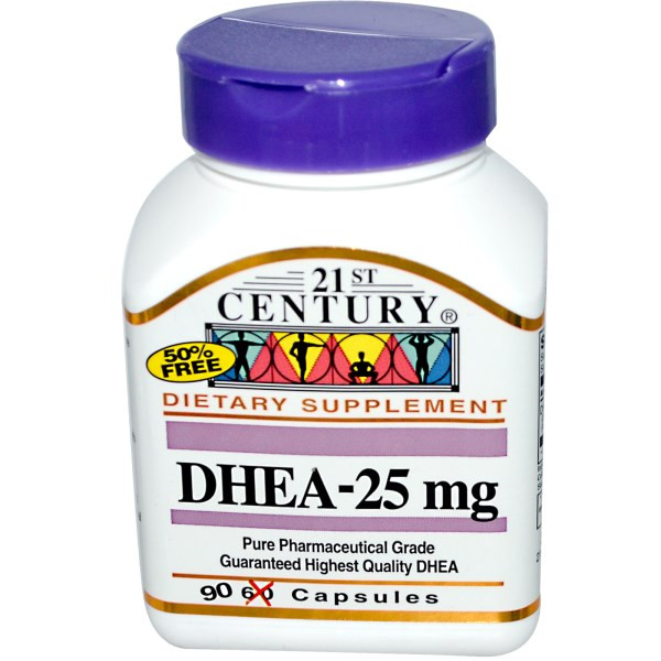 DHEA 21st Century 25 mg 90 caps