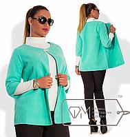 Пиджак женский большого размера ( р 48-54 )