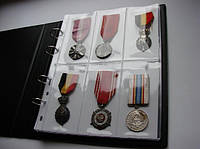 Альбом для наград + 50 кармашков для медалей