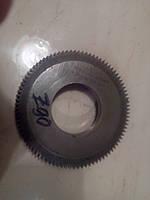 Долбяк дисковый М 1,25 z90 d20 град  P6М5 дел. диаметр100, фото 1