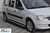 Боковые площадки (Fullmond) Renault Logan MCV