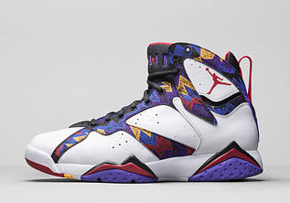 """Кросівки жіночі Nike Air Jordan 7 """"Nothing But Net"""" / AJW-316 (Репліка)"""