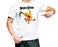 """Футболка """"Angry Birds (Chuck)"""""""