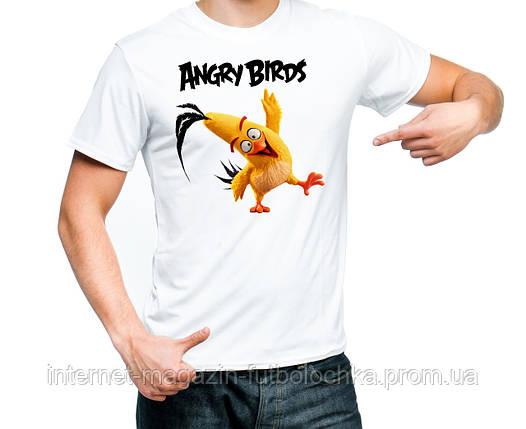"Футболка ""Angry Birds (Chuck)"", фото 2"
