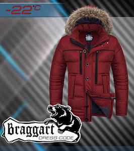 Мужская брендовая куртка на зиму