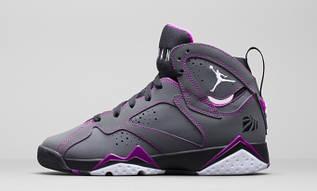 """Кросівки жіночі Nike Air Jordan 7 GS """"Valentines Day"""" / AJW-319 (Репліка)"""