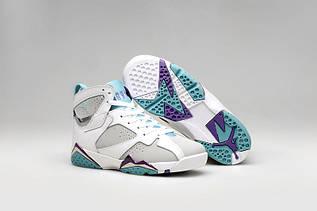 Кросівки жіночі Nike Air Jordan 7 Retro / AJW-323 (Репліка)