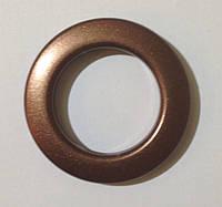 Люверс 36 мм антик матовый