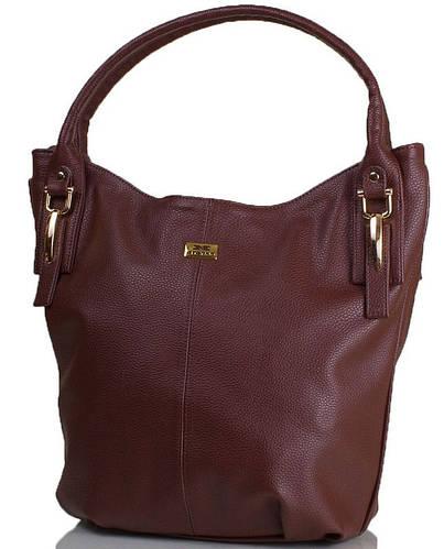 Элегантная женская сумка из качественной искусственной кожи ETERNO ETMS35266-10 коричневый