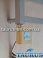 Квадратный золотой ТЭН KTX1 с управлением на кнопках 2 режима, Польша. Съёмный регулятор. Мощность:120-1000Вт.