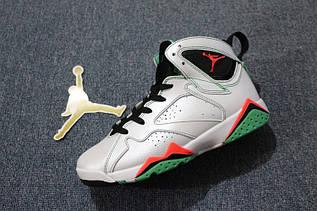 Кросівки жіночі Nike Air Jordan 7 Verde GS / AJW-329 (Репліка)