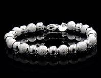 Браслет «Серебряное очарование» с покрытием серебром 925 пробы, купить в Донецке, Украине