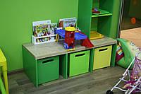 Боксы для хранения игрушек! Цветные., фото 1